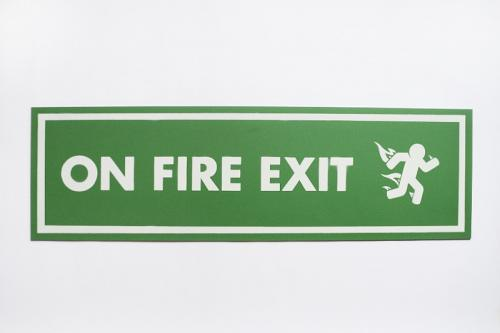 On Fire Exit, Pahnl